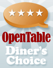 OpenTable Diner's Choice