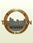 Talk of the Town News Customer Satisfaction Award