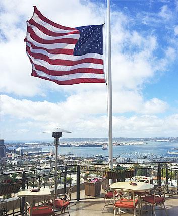panoramic views of San Diego