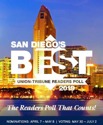 San Diego's Best U-T Readers Poll