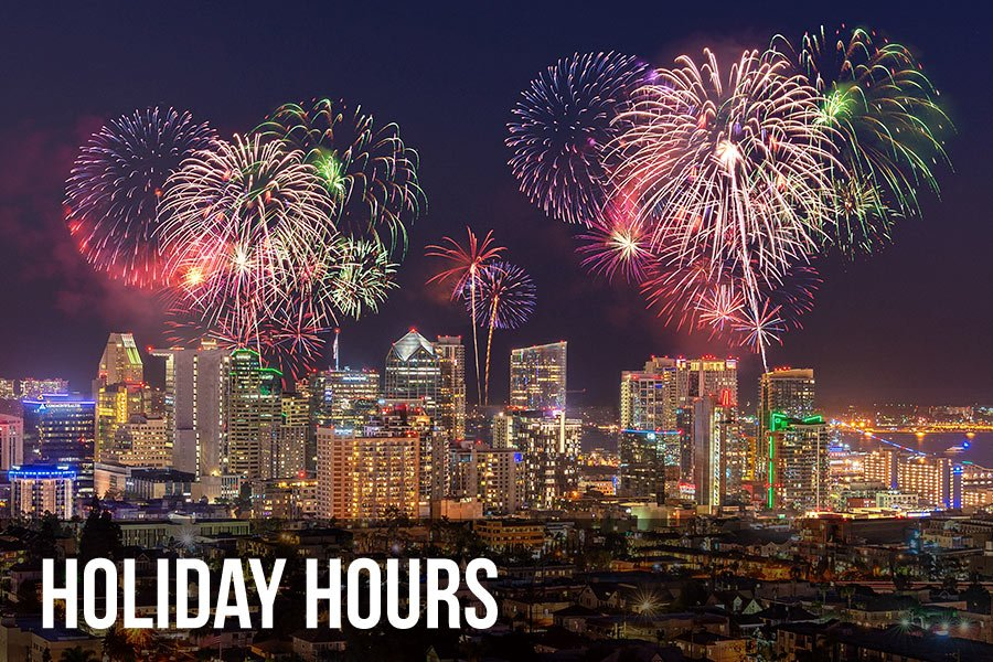 holiday hours fireworks